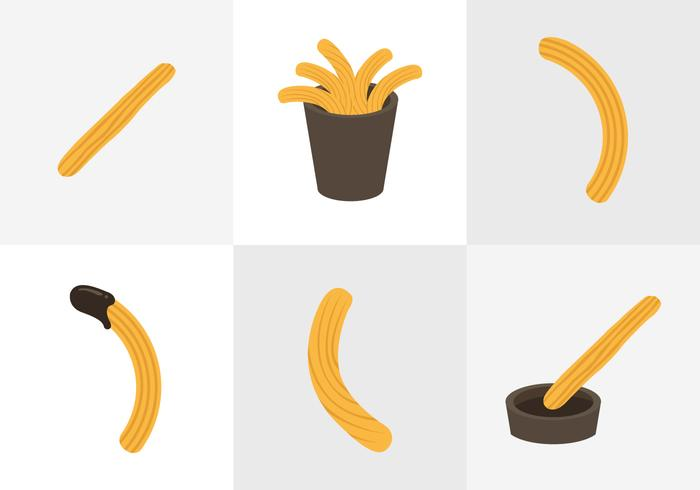 Churros Vectors