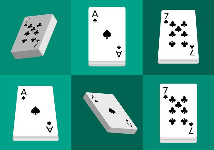 Deck of Cards Isolated