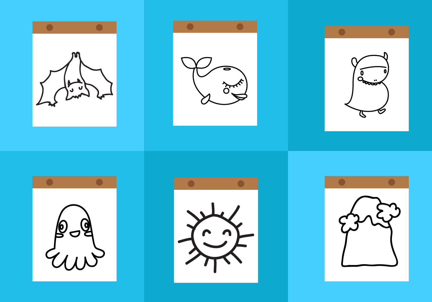 Coloring Pages Free Vector Art - (25634 Free Downloads)