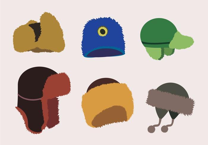 Chapéus de pele à moda