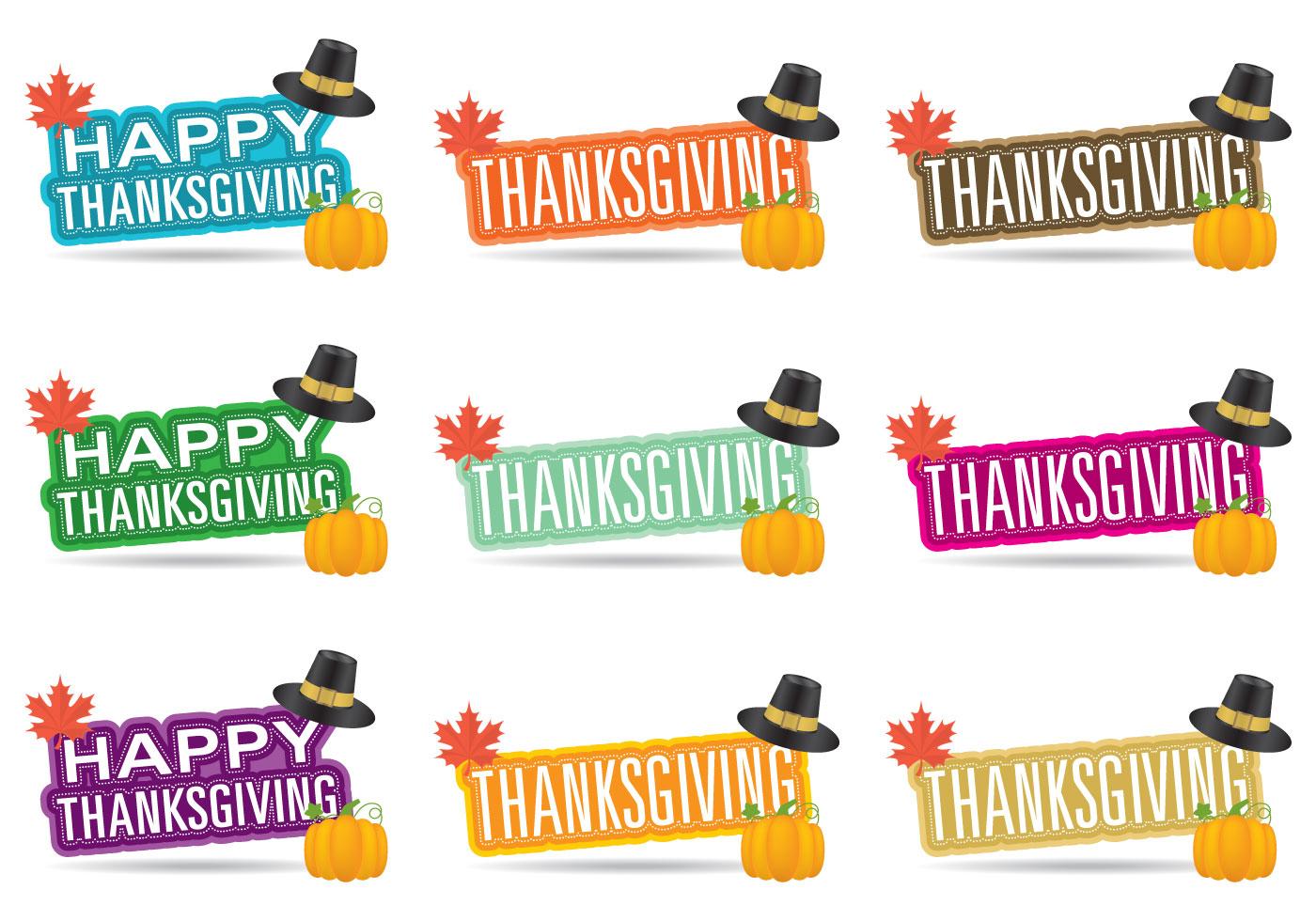 Títulos de Acción de Gracias - Descargue Gráficos y Vectores Gratis