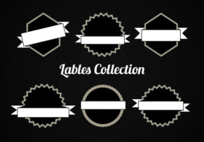 Free Vector Collection of Labels
