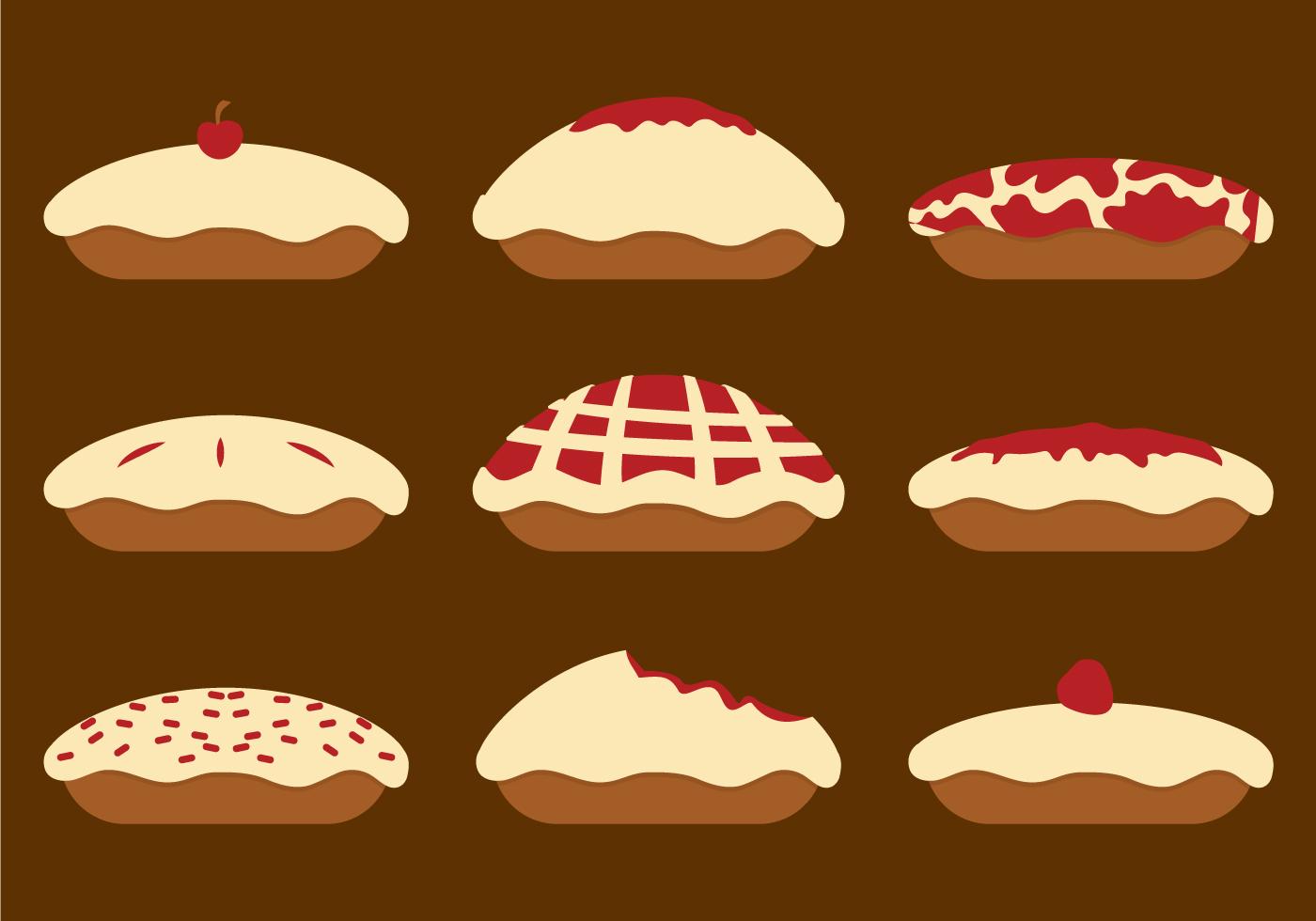 Apple Pie Vector Download Free Vector Art Stock