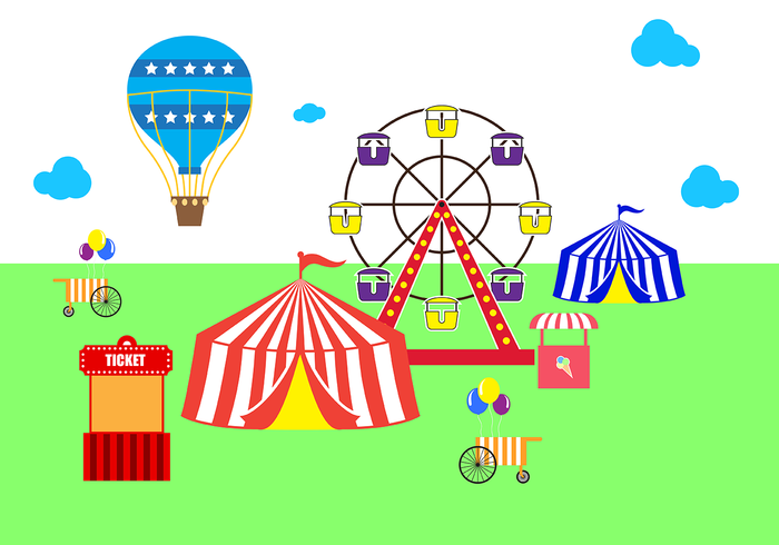 Free Country Fair Vector