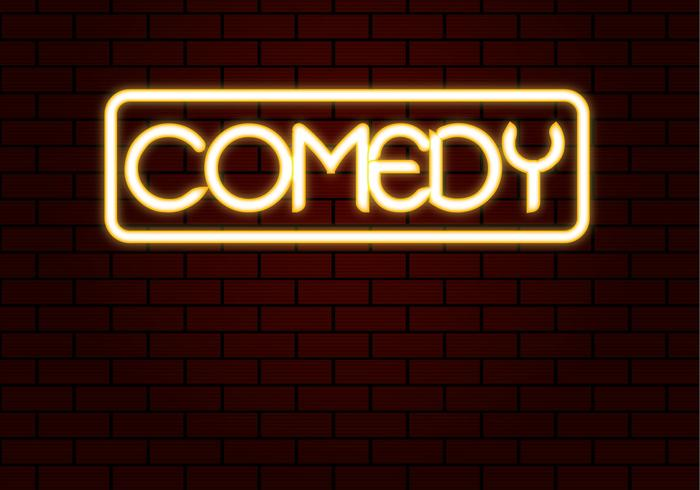 Free Comedy Neon Vector