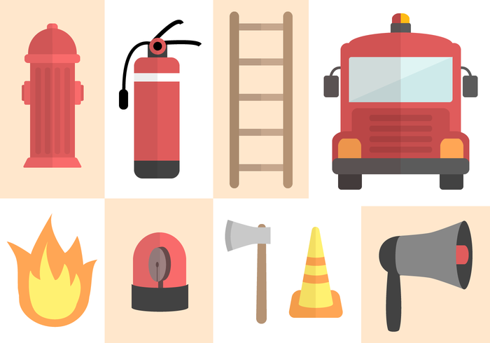 Free Fire Fighter Vector