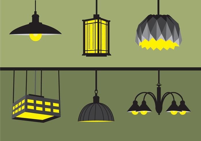 Lumières suspendues