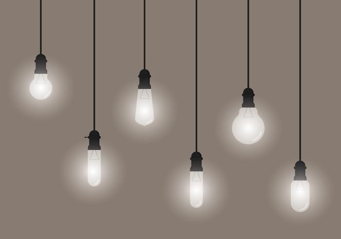 Hängande glödlampa