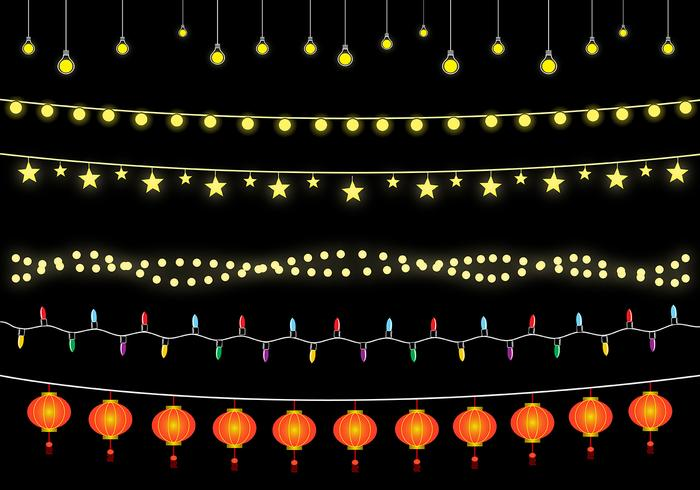 Free Hanging Lights Vector
