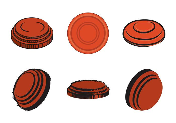 Free Clay Pigeon Vector Illustration