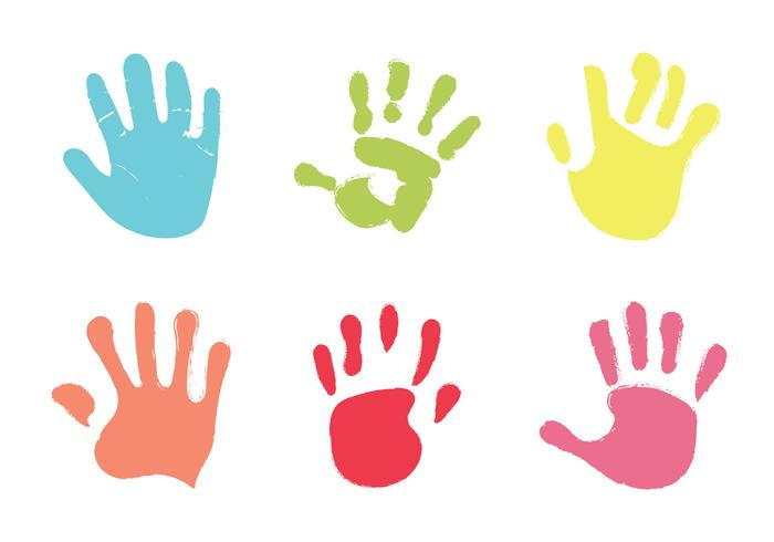 hand print free vector art 12518 free downloads rh vecteezy com handprint vector clipart bloody handprint vector