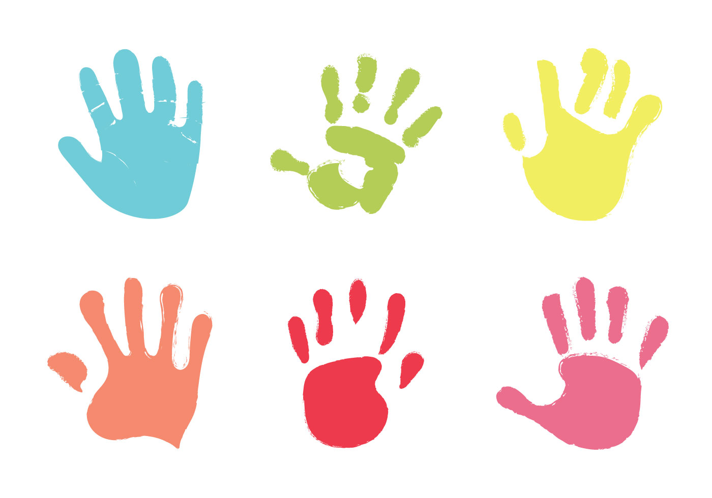 free baby hand print vector illustration download free vector art  stock graphics   images leopard clip art black and white leopard clip art border