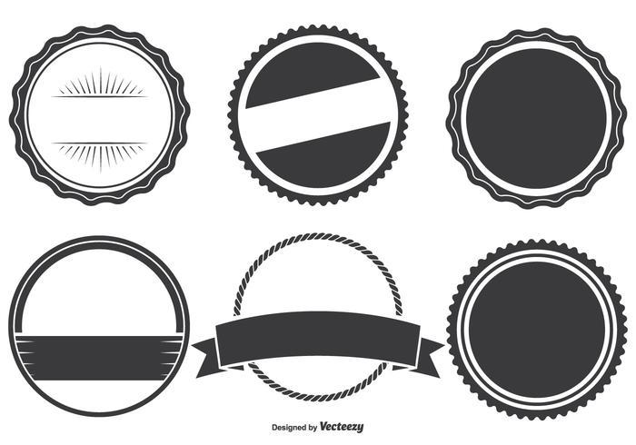 Conjunto de Formas de Badge