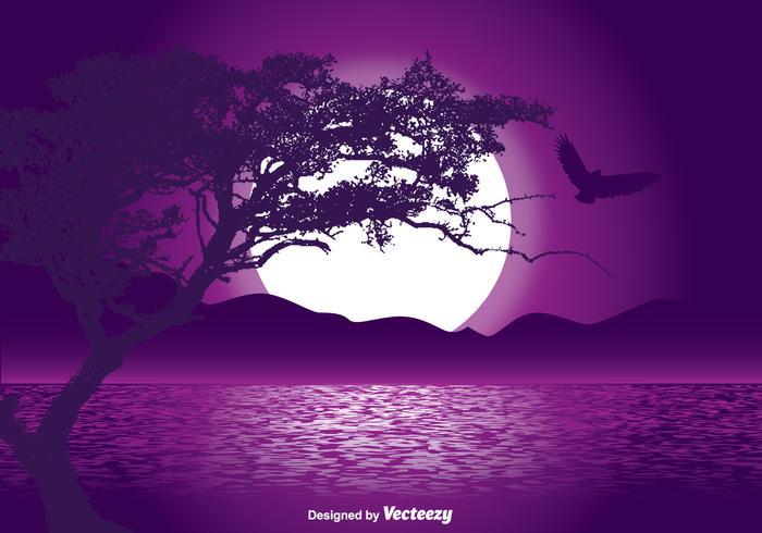 Mystical Landscape Illustration