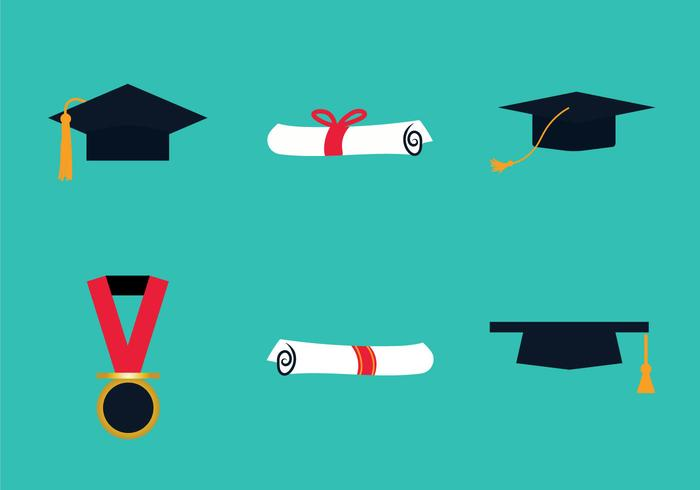 Free Graduate Vector Illustration