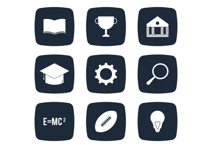 Universität Einfache Ikone
