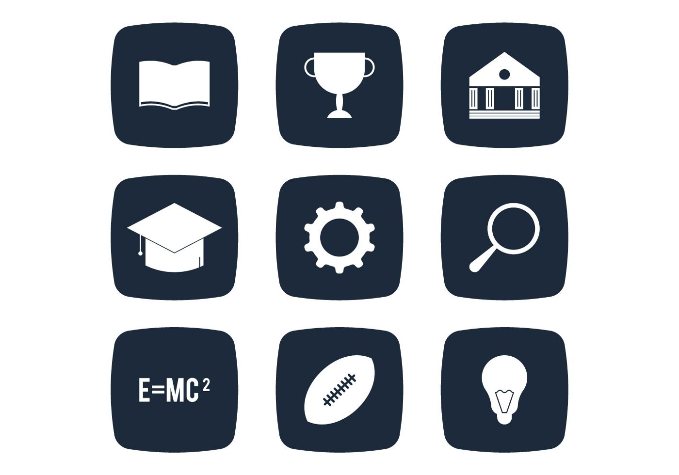 University Simple Icon - Download Free Vector Art, Stock Graphics