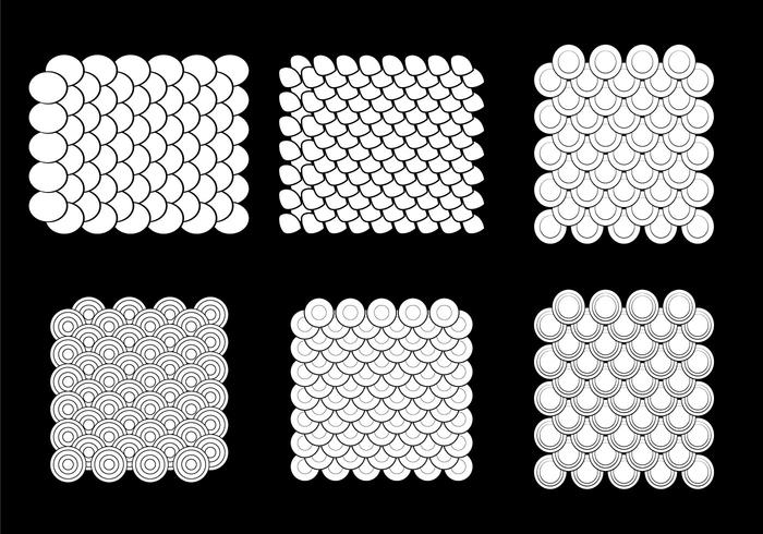 Free Fish Scale Vector Pattern