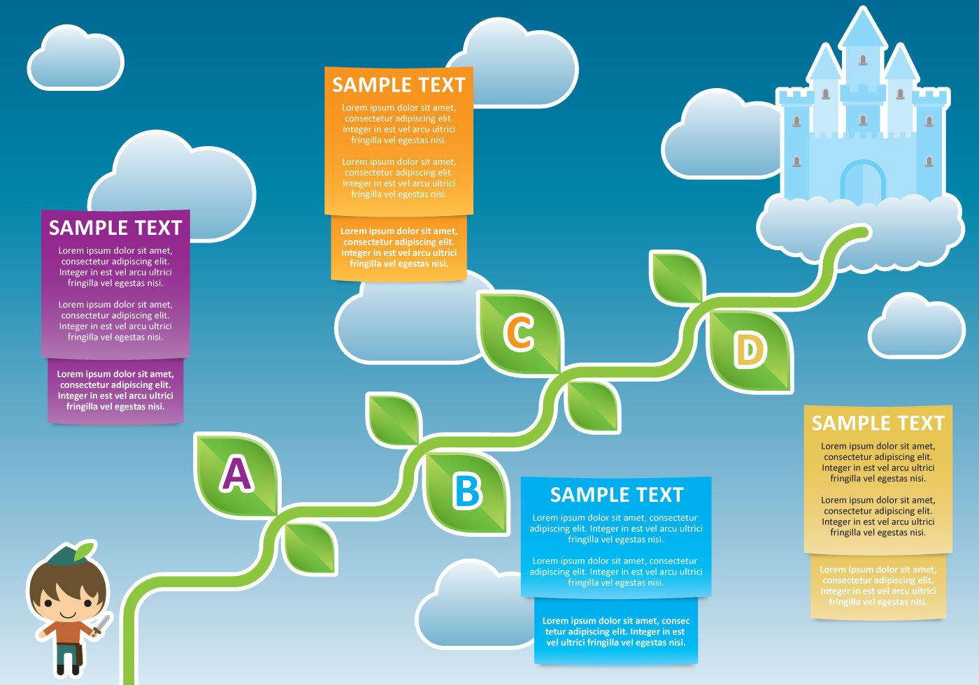 Jack And The Beanstalk Infography