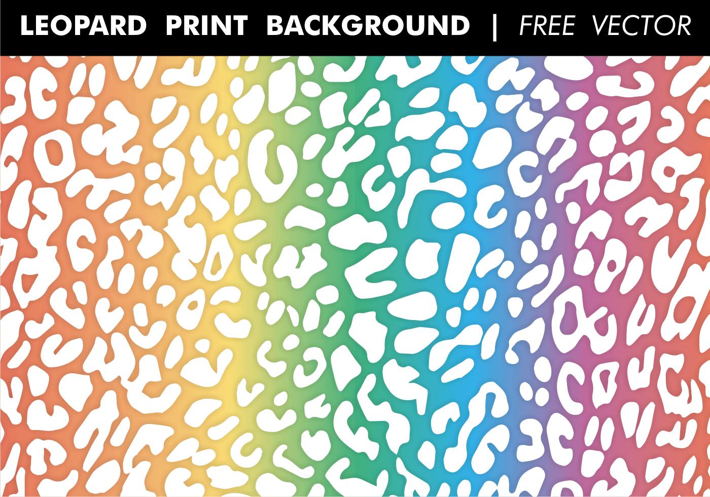 Download Leopard Print Background - Download Free Vectors, Clipart ...
