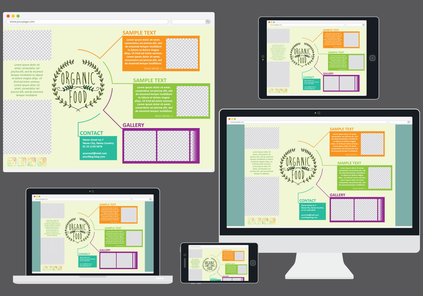 food web template in devices download free vector art stock graphics images. Black Bedroom Furniture Sets. Home Design Ideas