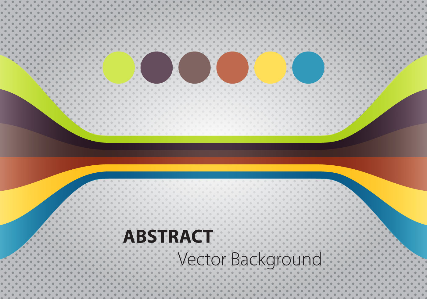 Abstract halftone circle banner vector download free vector art.
