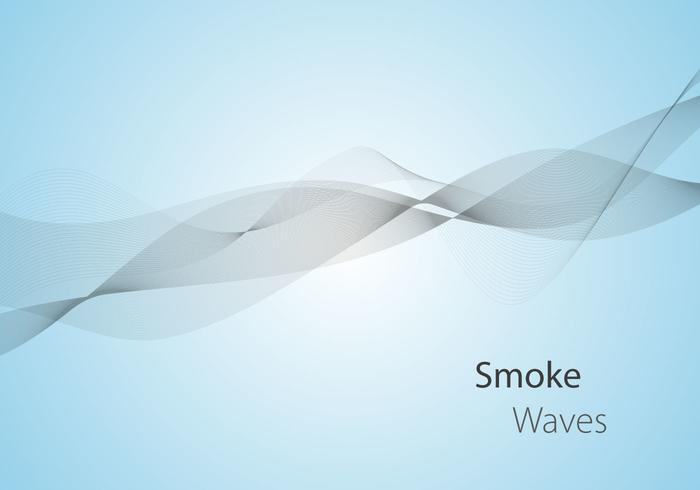 Free Smoke Waves Vector