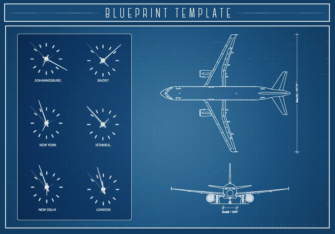 Airlplane blueprint vector download free vector art stock airlplane blueprint vector download free vector art stock graphics images malvernweather Images