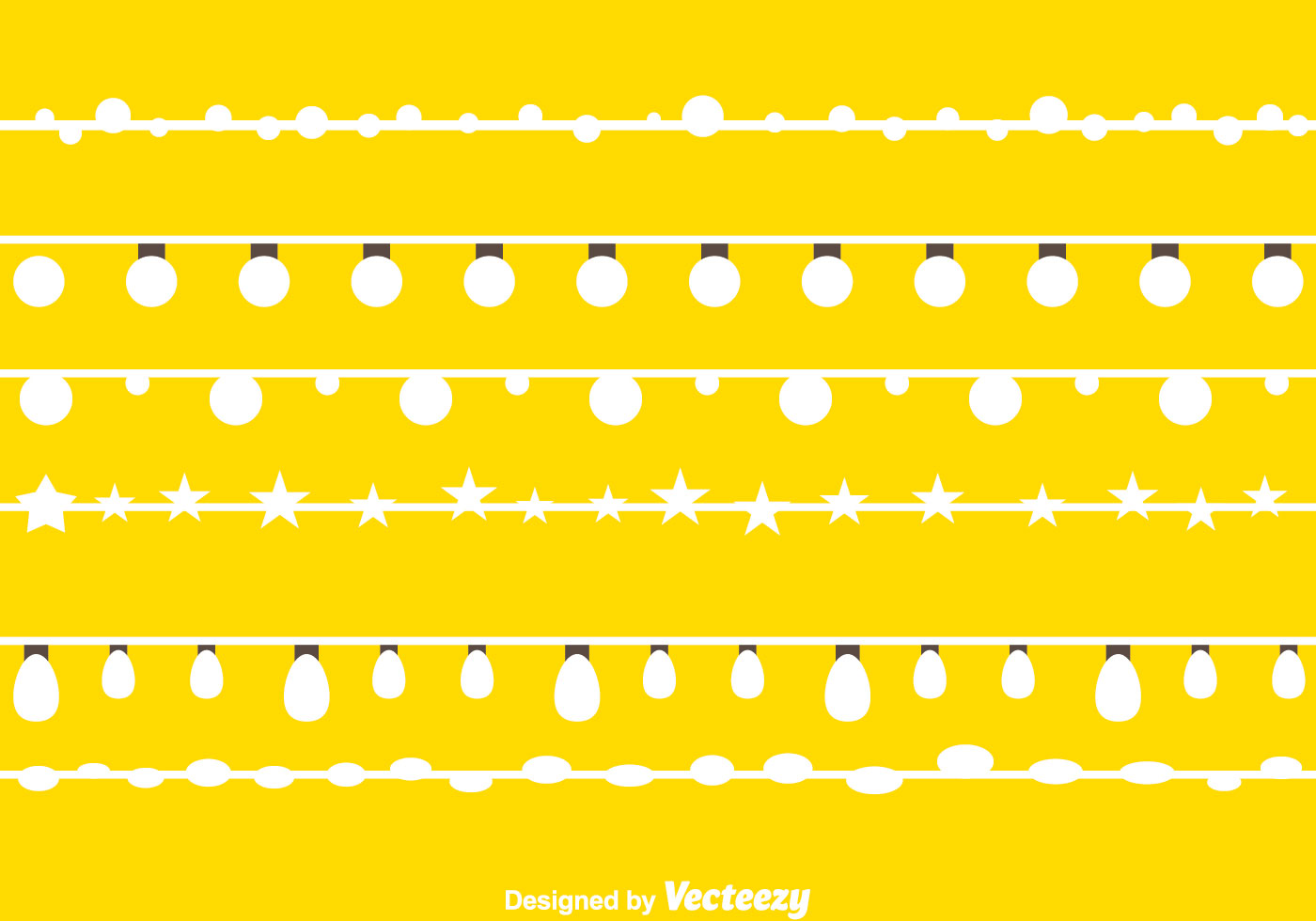 White String Lights - Download Free Vector Art, Stock Graphics & Images