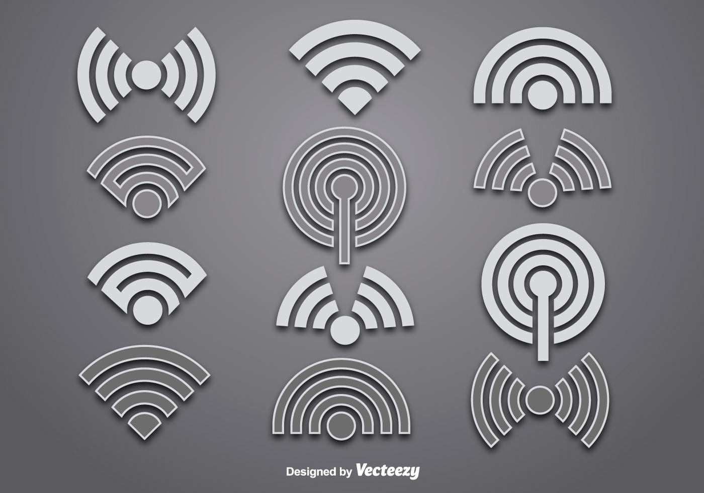 vector wifi logo vectors download free vector art stock