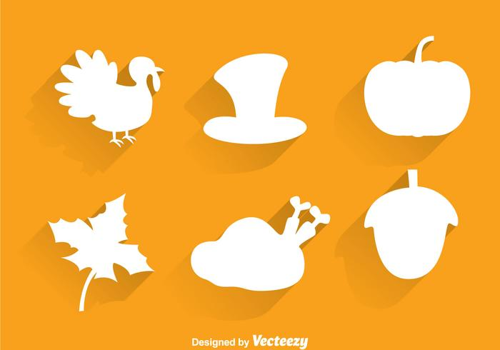 Thanksgiving Silhouette Icons