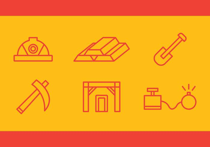 Free Gold Mine Vector Icons #3