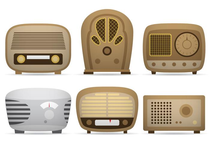 Transistor Radio Vectors