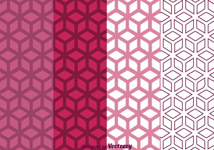 Geometric Purple Background vector