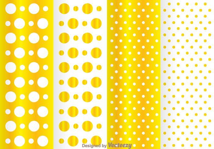Golden Dot Pattern