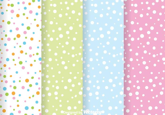 Abstract Colorful Dot Pattern vector