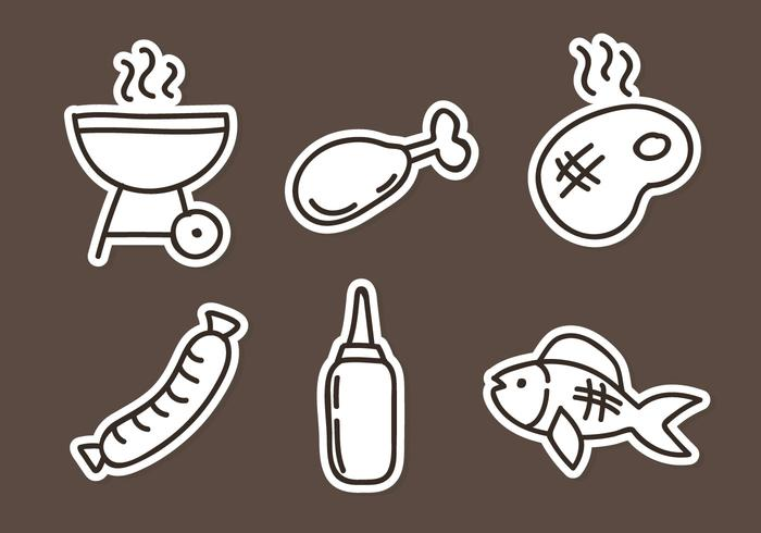 Grill Element Icons