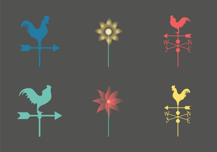 Free weather vane vector Icon