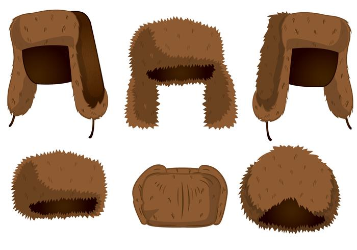 Fur Hat Vectors
