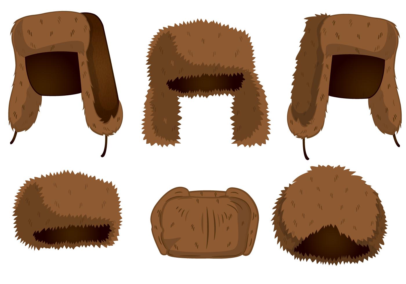 Fur Hat Vectors - Download Free Vector Art, Stock Graphics