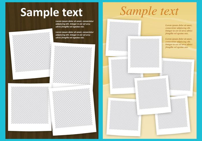 Photo Collage Templates Download Free Vector Art Stock