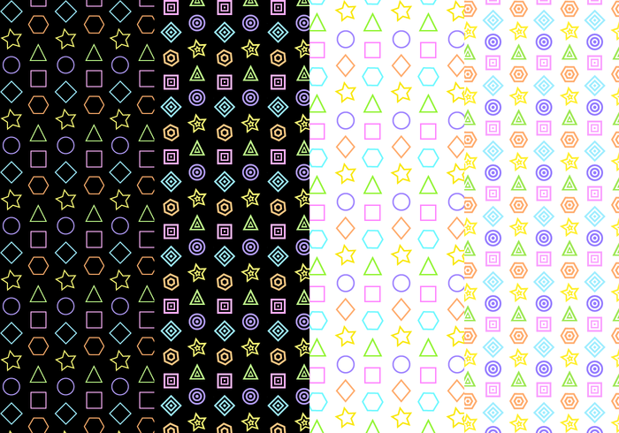 Free Geometrical Pattern Vector