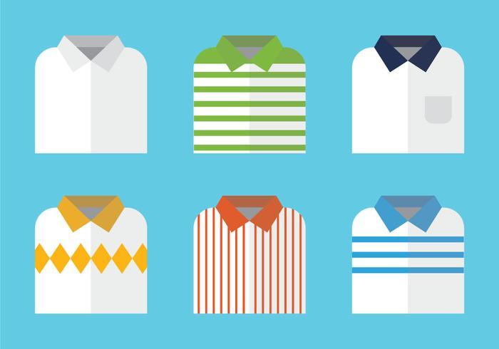 Ilustração livre do vetor da camisa dobrada