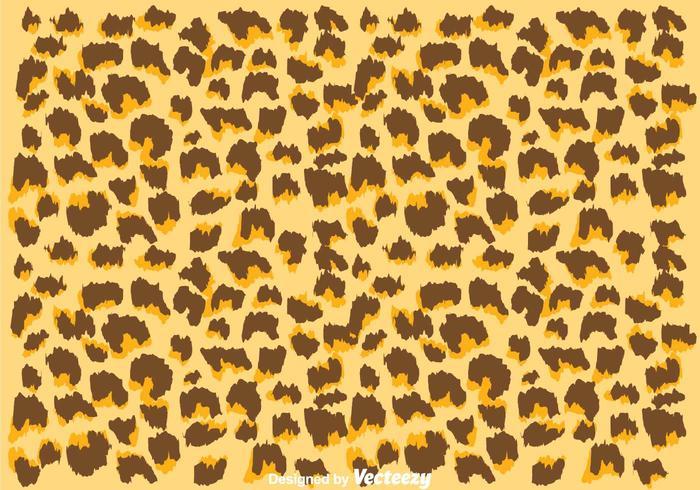 Natural Color Leopard Pattern