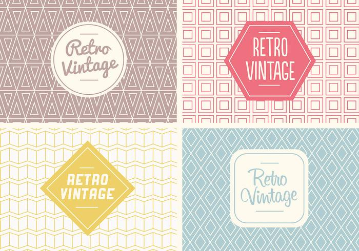 Free Seamless Vintage Pattern Vector