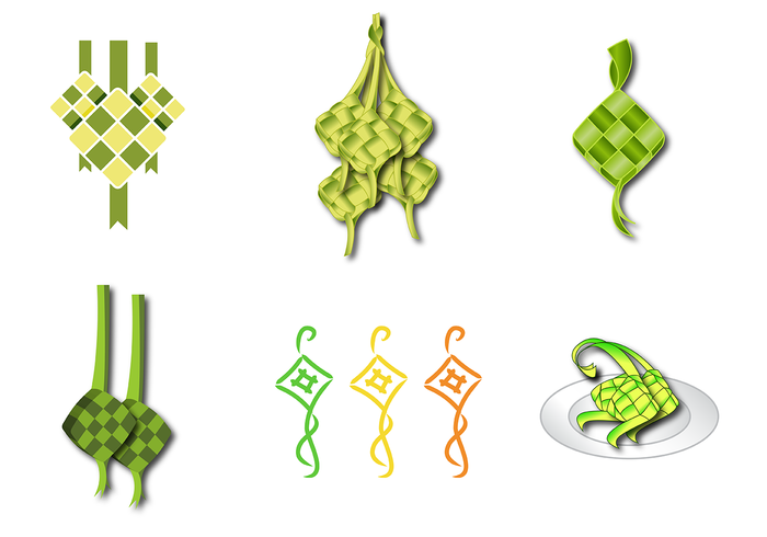 Ketupat Vector - Download Free Vector Art, Stock Graphics