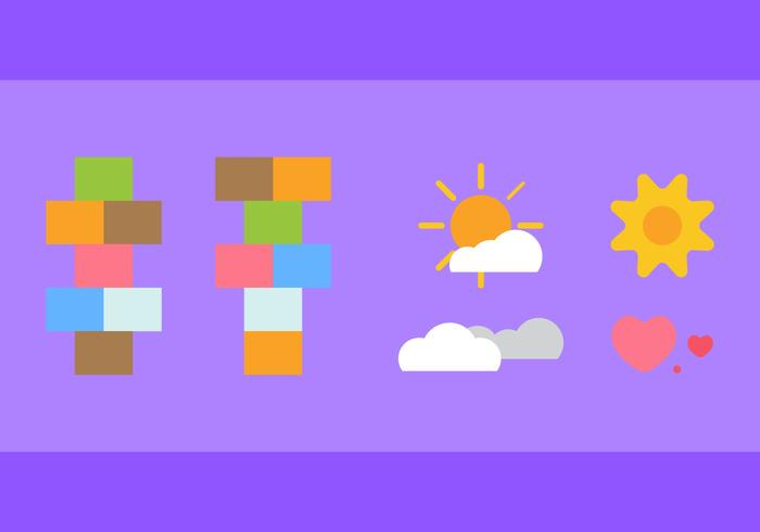 Free Hopscotch Vector Icons #3