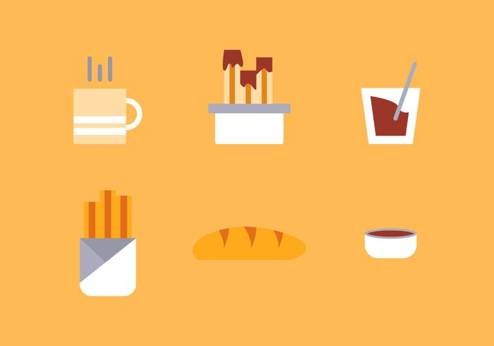 Free Churros Vector Icons #2