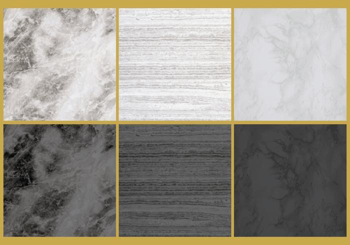 Vecteurs de texture de marbre