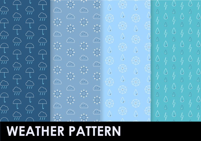 Free Weather Pattern Vektor